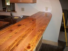 Wood Bar Top Countertop Reclaimed Wood Countertops For Any Kitchen Or Bar