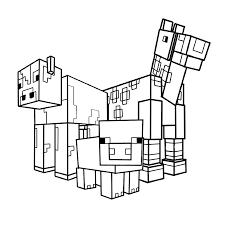 Minecraft Kleurplaten Kleurplatenpaginanl Boordevol Coole