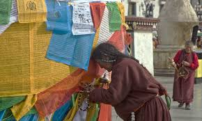 Image result for prayer flags in lhasa