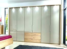 fold closet door folding mirror doors bi accordion elegant glass ikea