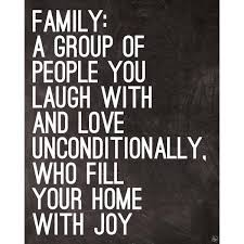 family laugh and love