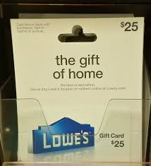lowes gift card purchase lowes gift card