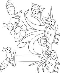 Go to the printable books page to download. Thematic Coloring Pages For Each Letter Insect Coloring Pages Bug Coloring Pages Coloring Pages