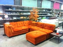 Vintage couch for sale White Orange Sectional Sofa Sofas Retro Tangerine Couch Vintage Excellent For Sale Nicholaspace Excellent Vintage Sectional Couch Pertaining To Sofa Modern Retro
