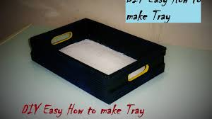 DIY Easy | How to make Tray / Organizer | Made with Cardboard |