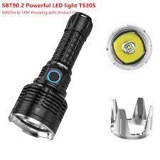Wurkkos TS30S USB C Sạc 21700 Đèn Pin SBT90.2 Mạnh LED 6000lm Có Thêm Đồng  Hồ Viền Anduril Phiên Bản LED Flashlights