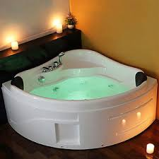 Image is loading Whirlpool-Bath-Shower-Spa-Jacuzzis-Massage-Corner-2-