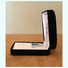 star of david pendant aqua aura 25mm velvet box included