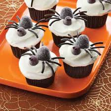 halloween spider cupcakes. Interesting Spider Spooky Spider Cupcakes Time Halloween Cupcake Recipes Throughout Cupcakes O
