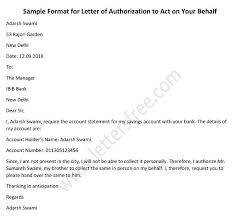 Authorization Letter To Claim Free Letters