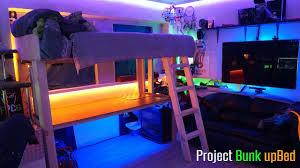 loft bed setup ideas.  Loft Project Bunk Bed Build Log Ultimate Room Setup YouTube To Loft Ideas I