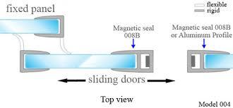 pvc seal for sliding doors