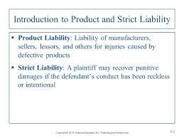 chapter product and strict liability ppt video online introduction to product and strict liability