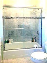 how to install sliding glass shower doors how to install bathtub sliding glass doors bathtub door