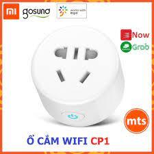 MẪU MỚI Ổ cắm wifi thông minh Xiaomi Gosund CP1 tắt mở bằng điện thoại kết  nối wifi hẹn giờ tắt mở - Minh Tín Shop