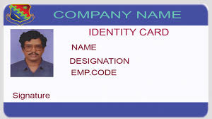 company id card templates how to design an id card using photoshop with english subtitles