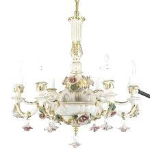 capodimonte chandelier porcelain chandelier authentic porcelain chandelier