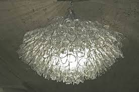 great recycled glass chandelier by eric sauve green design blog broken south africa diy bottle sea