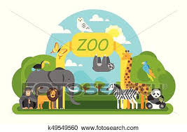 zoo entrance clip art.  Entrance Clipart  Animals Standing At The Zoo Entrance Fotosearch Search Clip  Art And Zoo Entrance Art E