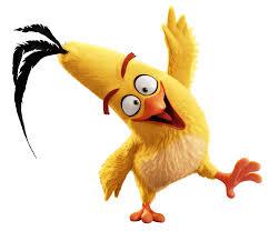 Transparent Animated Angry Birds Chuck Transparent Png Stickpng