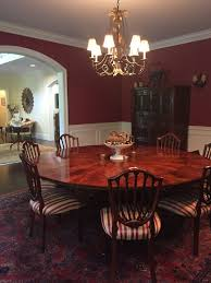 traditional dining room tables. Beforeinteriordesignphoto. The Round Dining Room Table Needed Traditional Tables