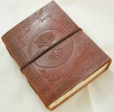 handmade tree of life embossed leather journal blank travel diary personalized writing notebook