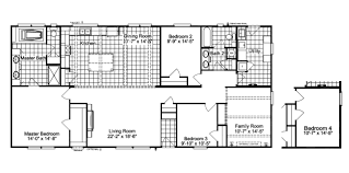 double wide floor plans with photos luxury the carrington ml c manufactured home floor plan or