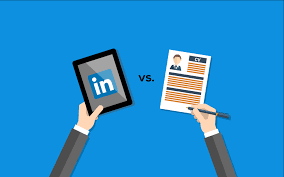 Is Your Linkedin Profile Replacing Your Resume Or Cv Stone And