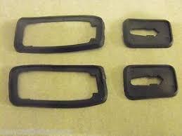 image is loading porsche 924 944 door handle seals set 4