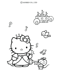 Coloring Pages Hello Kitty Coloring Pictures Hello Kitty Pages For