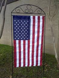 garden flag stand. Garden Flag Holders The Gardens Wrought Iron Holder Stand