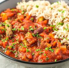 slow cooker vegan gumbo recipe