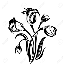 Get free high quality hd wallpapers floral silhouette vector