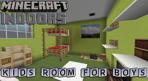 Minecraft Bedrooms Kids Bedroom For Boys Minecraft Indoors Interior Design Youtube