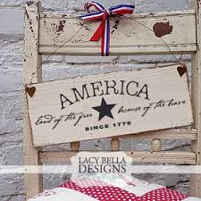 patriotic and america themed decals and decorations for the fourth