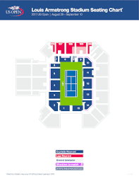 New Louis Armstrong Stadium Seating Chart Fillable Online Louis Armstrong Stadium Seating Chart Fax