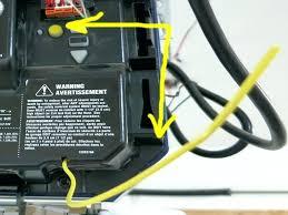 garage door opener antenna craftsman not working