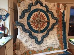 24 best My next Quilt images on Pinterest   Machine embroidery ... & Moving along block by block Adamdwight.com