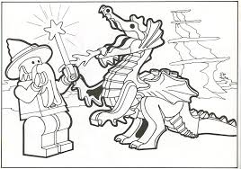Lego Hobbit Coloring Pages At Getdrawingscom Free For Personal