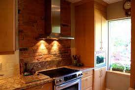 Faux Exposed Brick Apartments Licious Exposed Brick Wall Kitchen Designs Walls