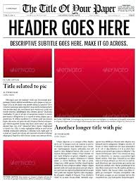 Newspaper Flyer Template Customize A Old Fashioned Newspaper For Your Poster Template