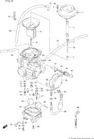 1996 suzuki king quad lt f4wdx oem parts babbitts suzuki partshouse carburetor