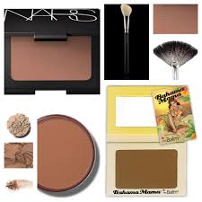 collage of bronzer s and colors