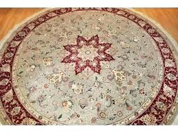 7 round area rugs ft foot feet square rug 7x7 fee