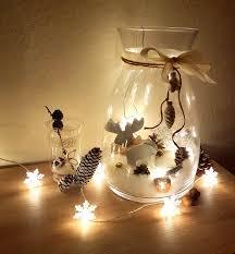 Diy Weihnachten Deko Großes Glas Dekorieren Mit Zauberwatte