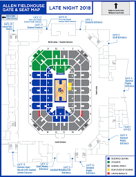 Precise Allen Fieldhouse General Admission Seating Chart 2019