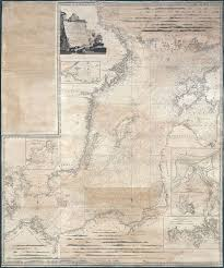Old Nautical Charts For Sale A New And Correct Chart Of The Baltic From The Cattegat To