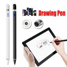 Có thể sạc lại màn hình hoạt động điện dung Bút stylus Bút vẽ phù hợp cho máy  tính bảng iPad