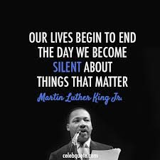 Martin Luther King Jr Famous Quotes Best Never Never Be Afraid To Do What's Right Especially If The Well