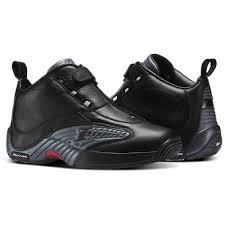 reebok shoes red and black. reebok - answer iv black/rivet grey/excellent red v44961 shoes and black